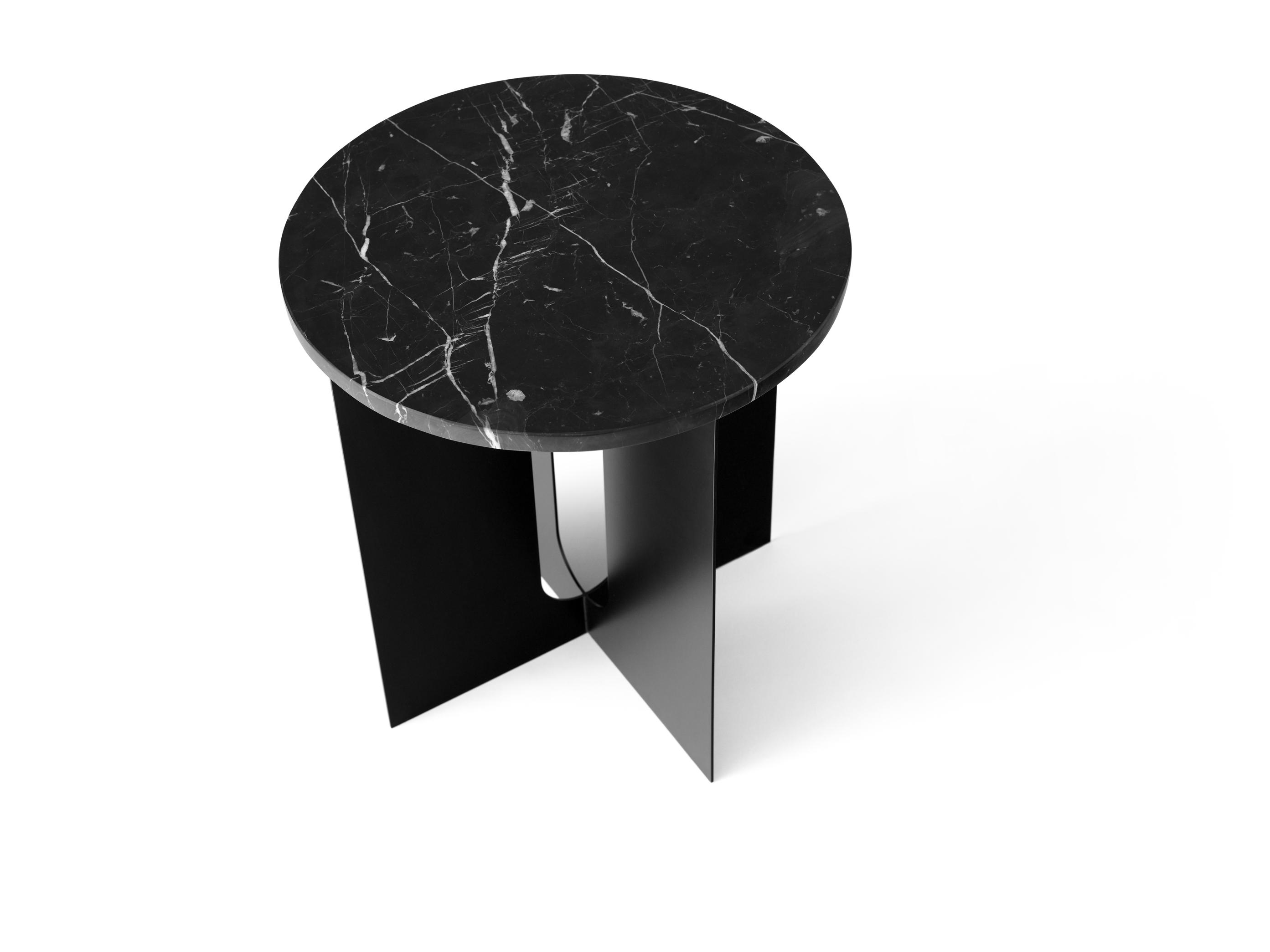 Fantastisk Bordplate til sidebord sort marmor - Backe i Grensen HG-98