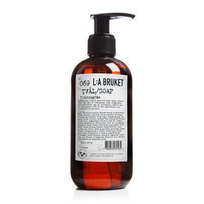069 flytende såpe sitrongress 250ml LA Bruket