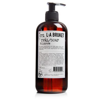 071 flytende såpe villrose 250ml LA Bruket
