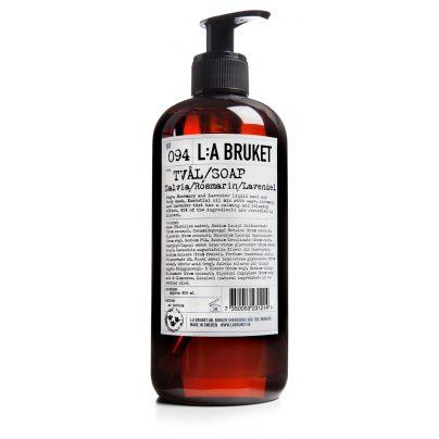 094 flytende såpe salvia/rosmarin/lavendel 450ml LA Bruket