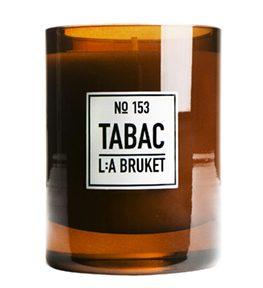153 duftlys tobakk 260g LA Bruket