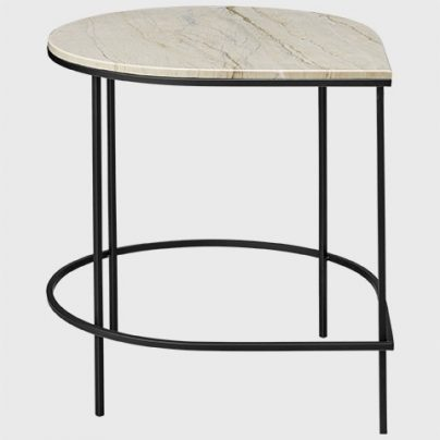STILLA bord med marmorplate 51x50x50 AYTM