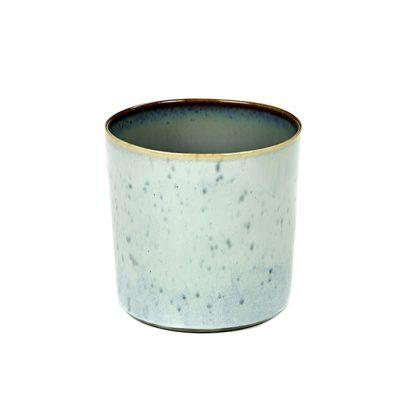 Kopp høy 7,5cm lysblå/støvblå