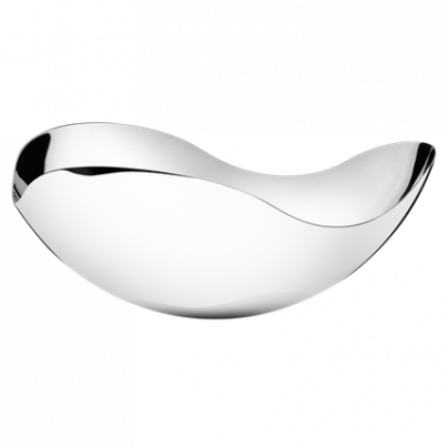 BLOOM SKÅL STOR 340MM BLANK GEORG JENSEN