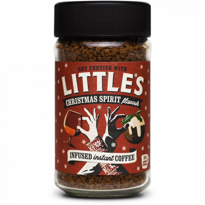 Little's Christmas Spirit Flavour Instant Coffee 50g
