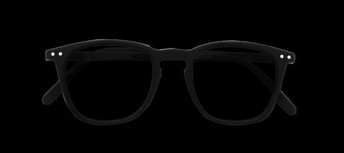 SUN LETMESEE #E BLACK SOFT GREY LENSES +1.00 SEE CONCEPT