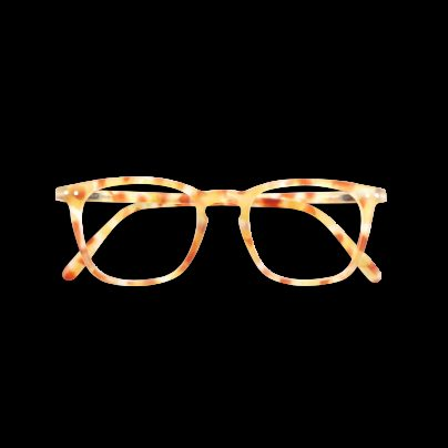 LETMESEE #E YELLOW TORTOISE SOFT +1.00 SEE CONCEPT