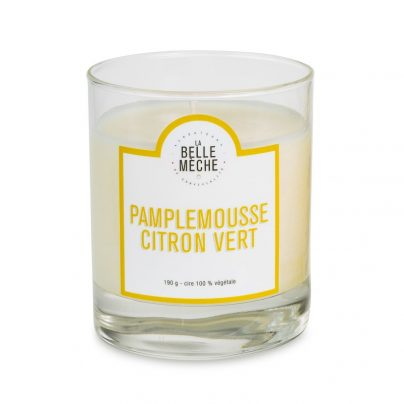 LA BELLE MÈCHE GRAPEFRUIT AND LIME SCENTED CANDLE LA PIERLO C.
