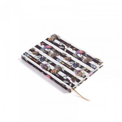 Hackney Empire A5 Hardback Notebook Midnight Stripe Inside Too