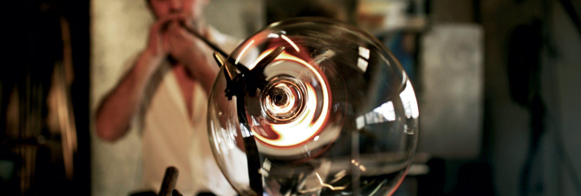 Zalto glass blåsing