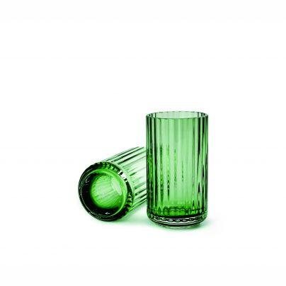 Lyngby_vase_15cm_glass_grønn