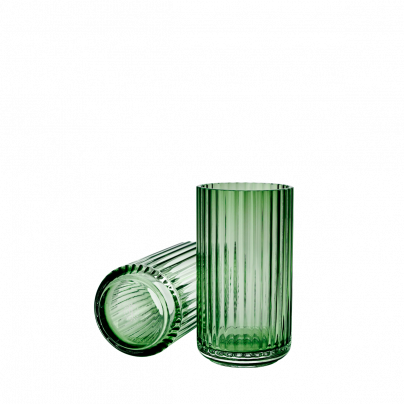 Vase 20cm glass copenhagen green