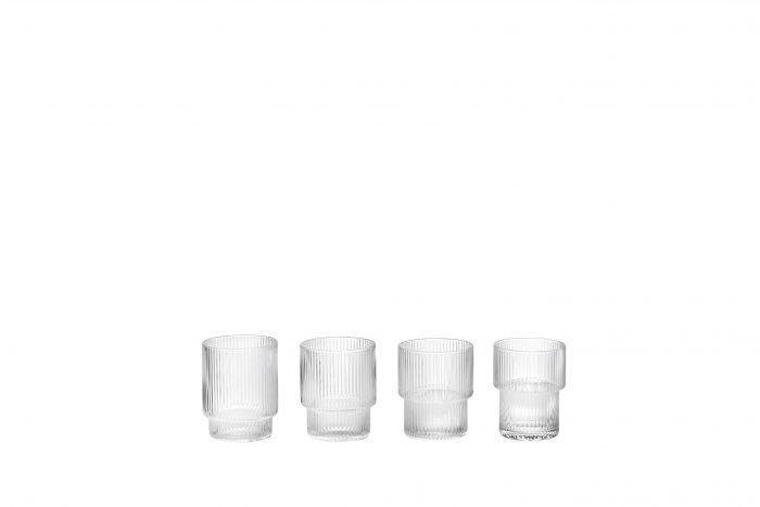 Ferm_living_ripple_vannglass