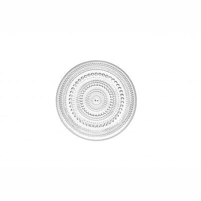 Kastehelmi_plate_17cm_clear