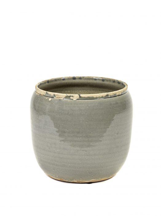 Potteskjuler grå 18,5x19cm liten