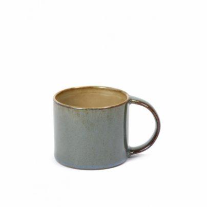 Espressokopp støvblå/grå