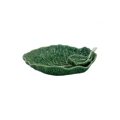 Bordallo Pinheiro_kål_grønn_serveringsfat_34cm