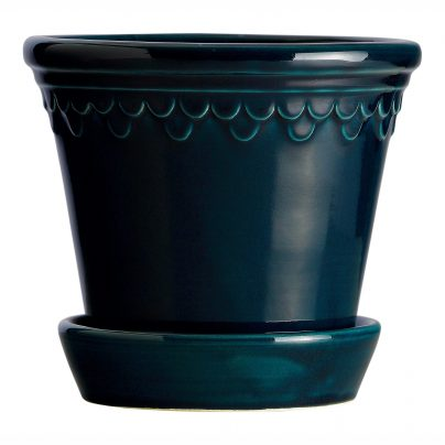 Bergs Potter Københavner i Petroleum Blue