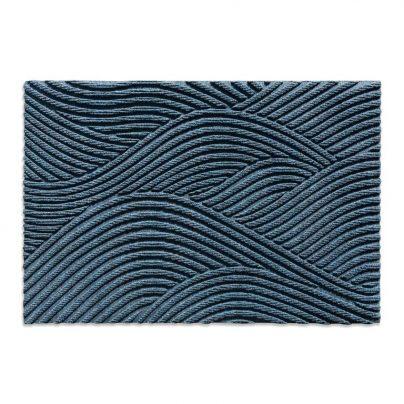 Matte + liten 60×90 blå