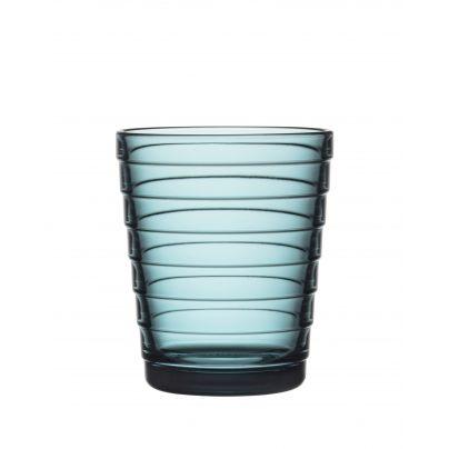 Drikkeglass 22cl 2pk sjøblå