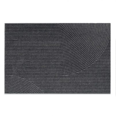 Matte + stor 87×130 grå