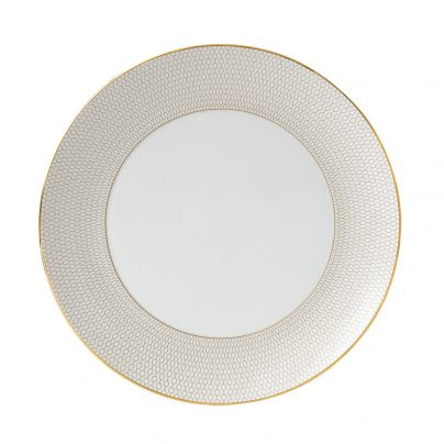 Tallerken flat 28cm hvit