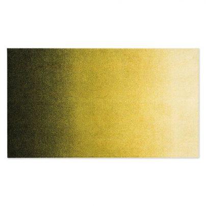 Matte stor 85×150 Gul Moss
