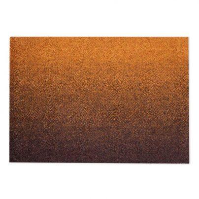 Matte liten 60×85 Oransje Rust