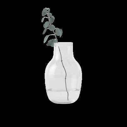 Vase liten glass 26cm