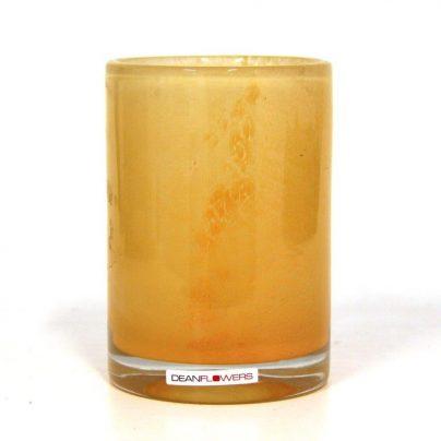 Lyslykt 13x10cm canteloupe oransje