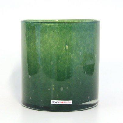 Lyslykt 15x15cm mirto grønn