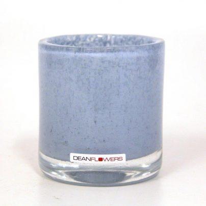 Lyslykt 9,5×8,5cm pastell blå