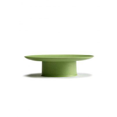 Kakefat på stett 33cm grønn