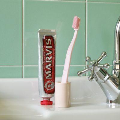 Tannbørste rosa
