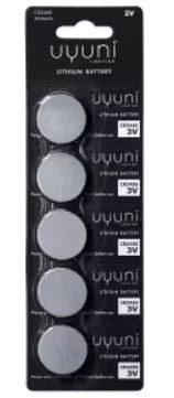 Uyuni Lighting Batteri 5pk CR2450